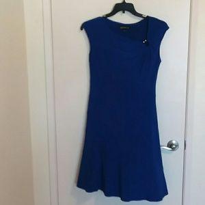 Blue spandex cute dress